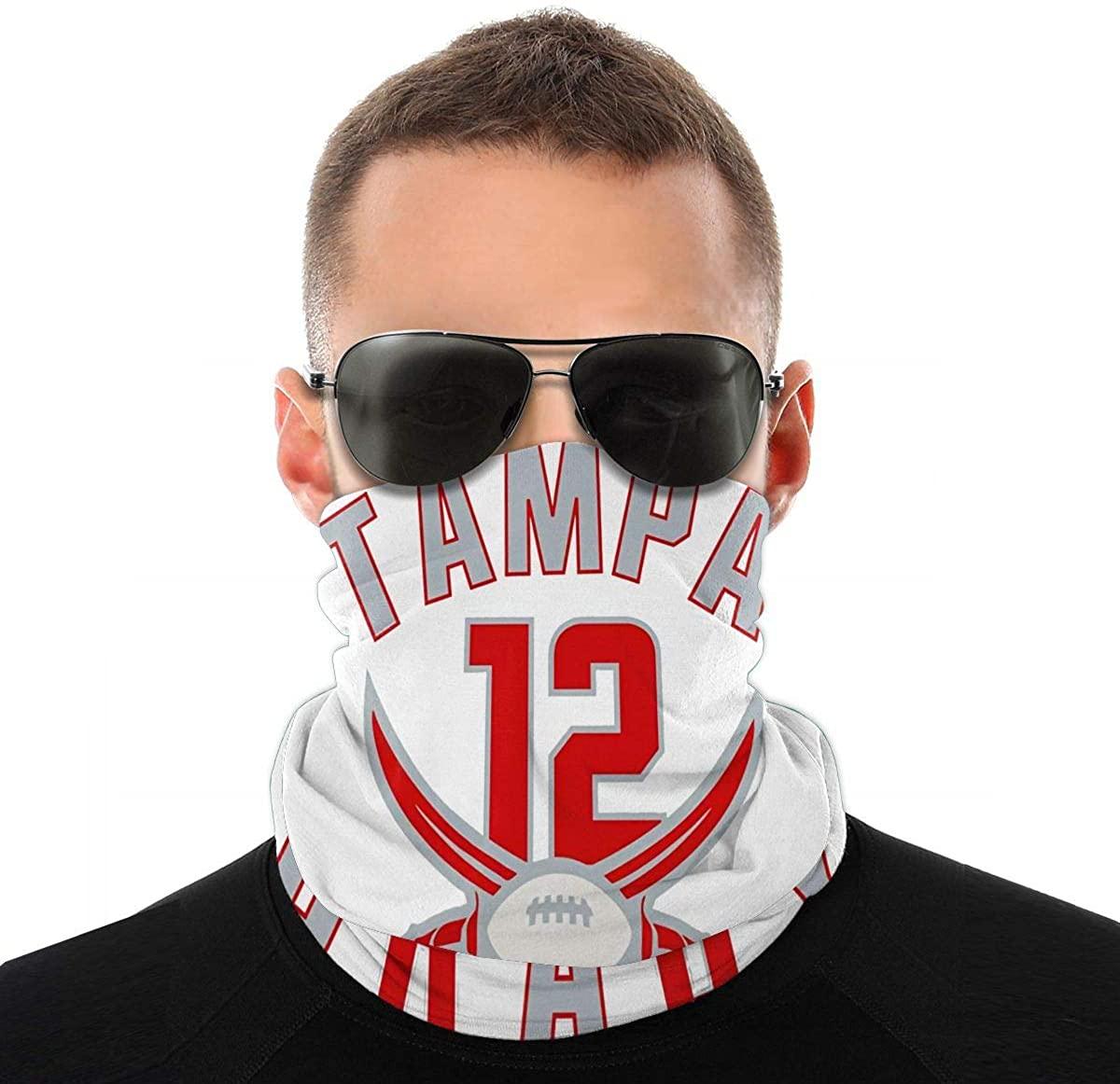 Tampa Bay Brady Face Mask Neck Leggings Windshield Dustproof Outdoor Balaclava Scarf Turban