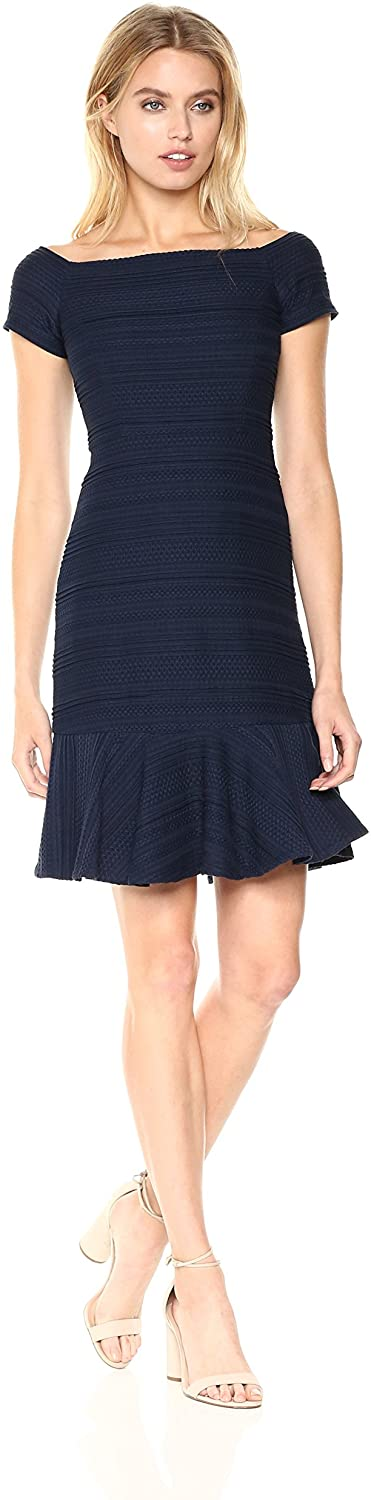 Rebecca Taylor Womens Os Str Texture DRS