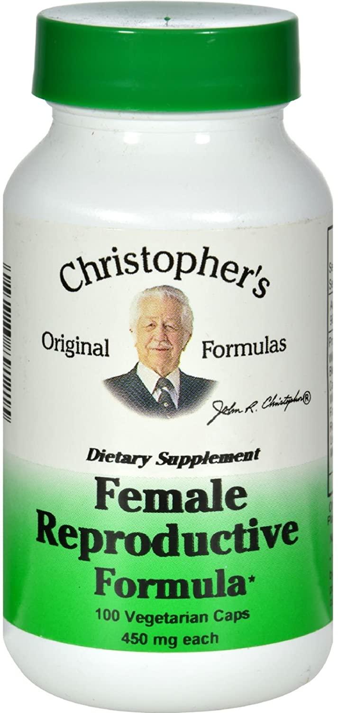 Dr. Christopher'S Formulas Female Reproductive Frmla 100 Cap