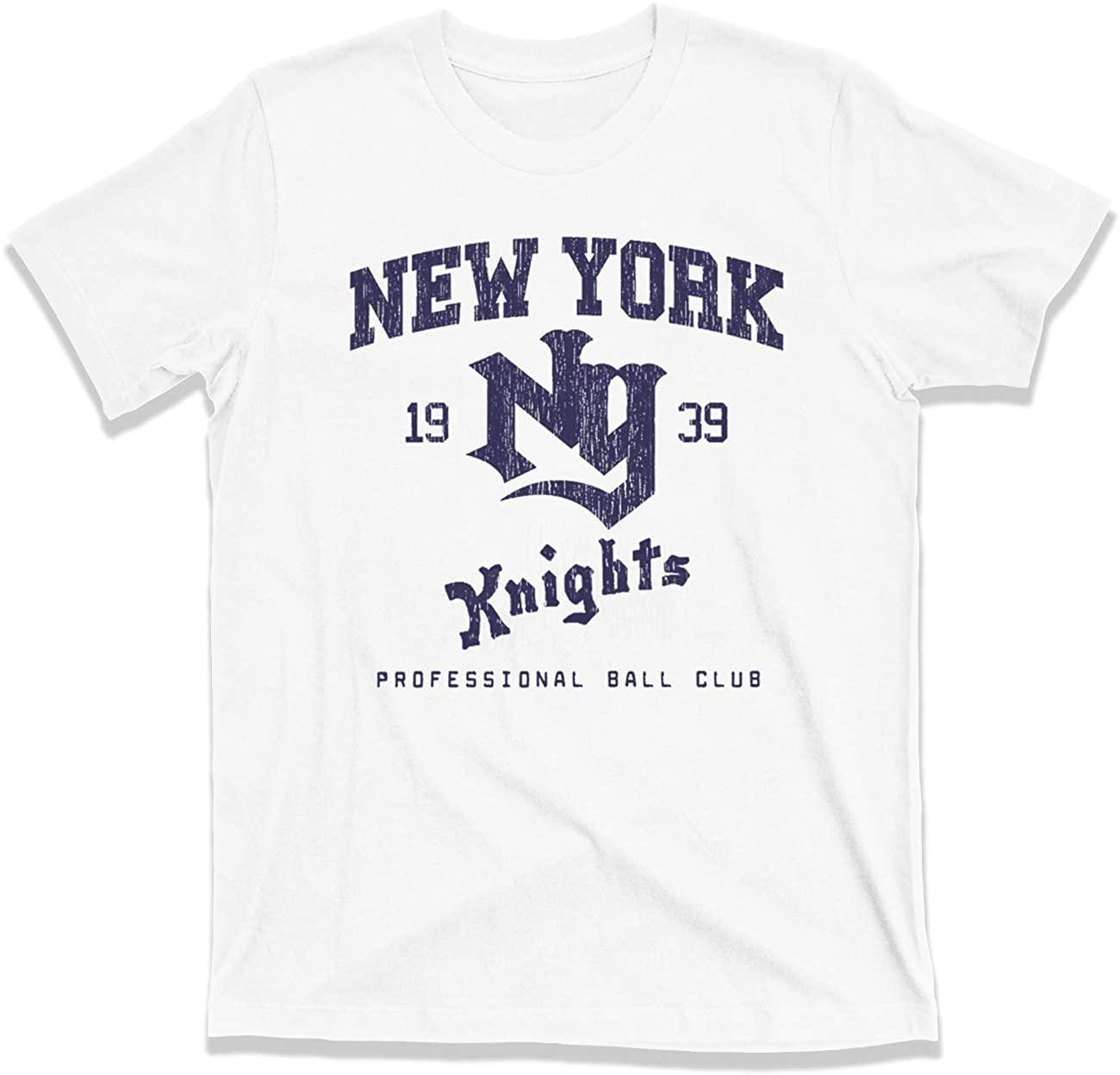 NY Knights Baseball Roy Hobbs The Natural wonderboy Robert Redford tee T Shirt