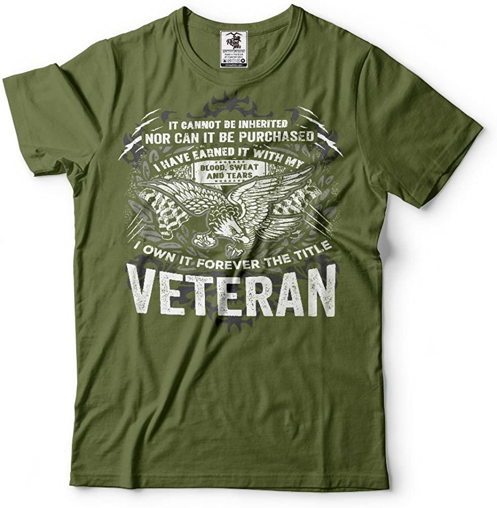 Silk Road Tees Veteran US Army Veteran T-Shirt Proud Veteran Best Gift for Veteran