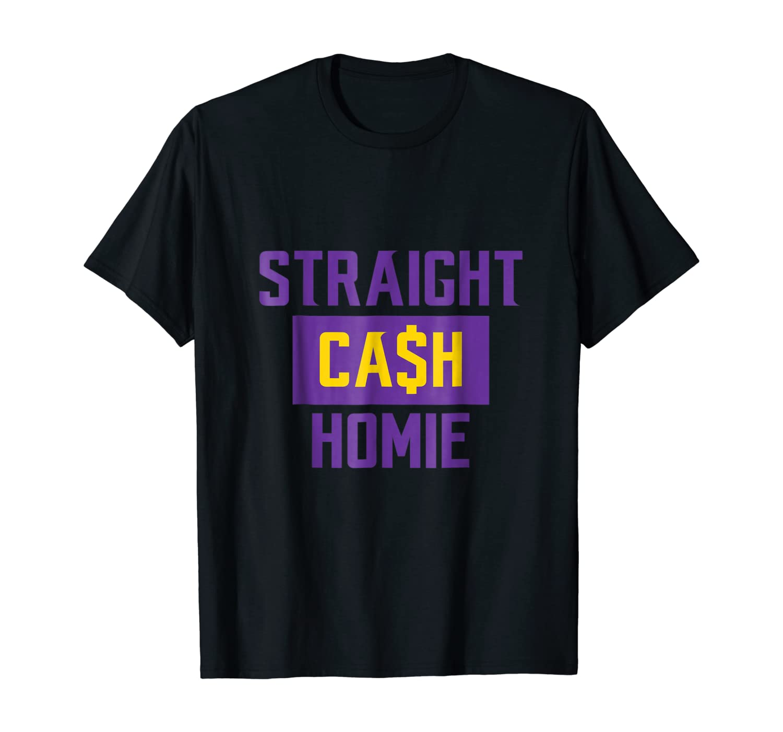 Straight Cash Homie Football Shirt