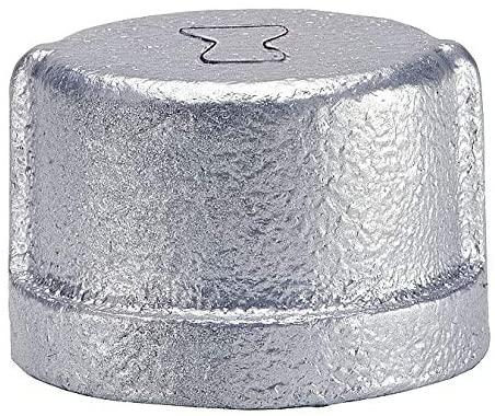 Anvil Galvanized Malleable Iron Cap, 1