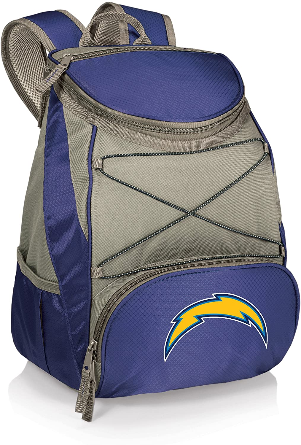 NFL Los Angeles Chargers PTX Insulated Backpack Cooler, Navy