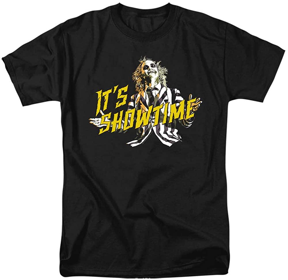 A&E Designs Beetlejuice T-Shirt Its Showtime Black Tee