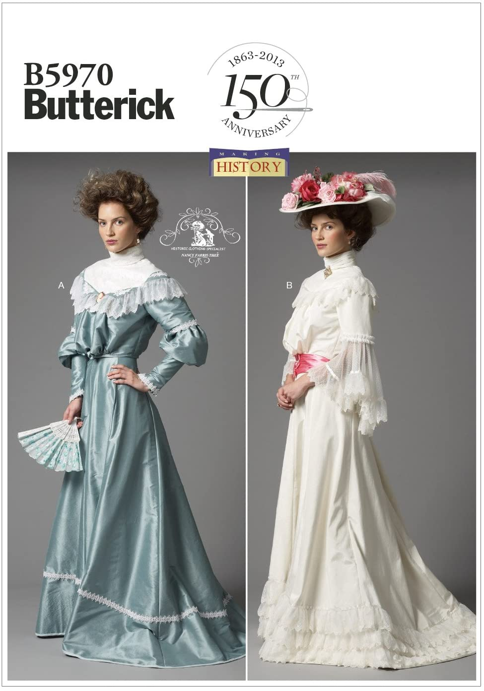 Butterick Patterns B5970 Misses' Top and Skirt Sewing Templates, Size F5 (16-18-20-22-24)