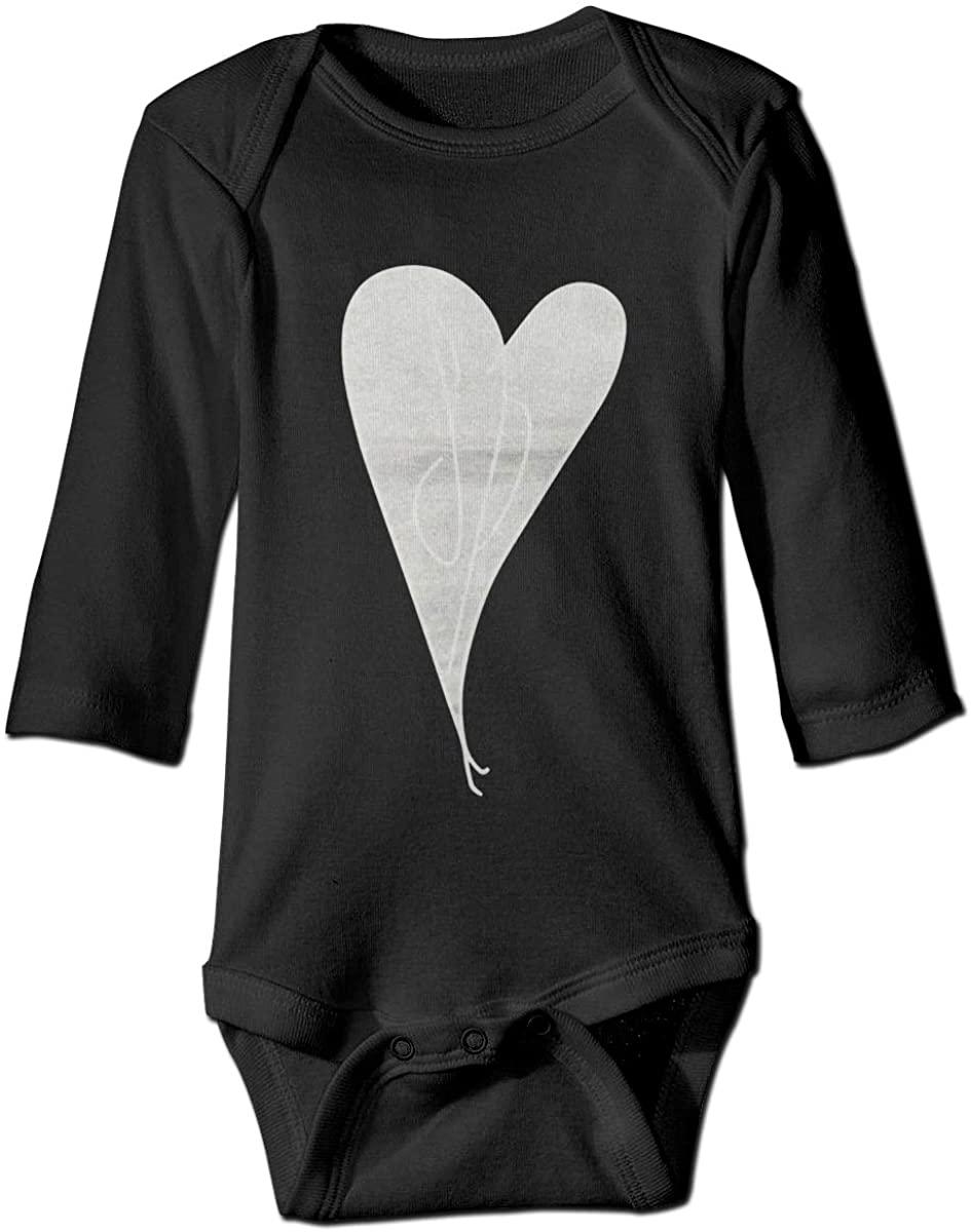 Winodfrw Smashing Pumpkins Mens Initial Heart Bodysuit Baby Jersey