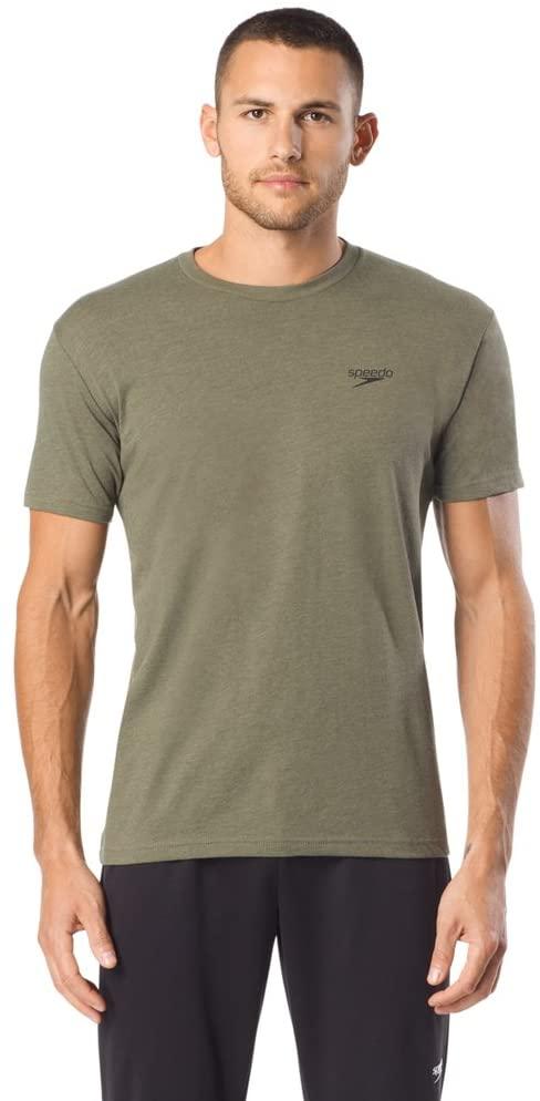Speedo Mens T-Shirt Crew Neck Graphic