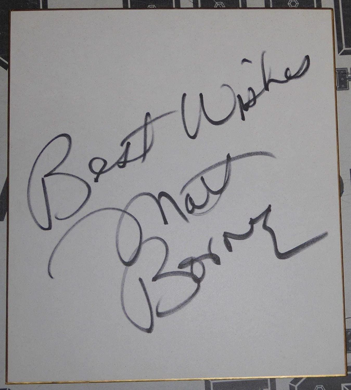 Matt Borne Doink The Clown Signed Shikishi Board PSA/DNA COA WWE ECW Autograph - Autographed UFC Miscellaneous Products