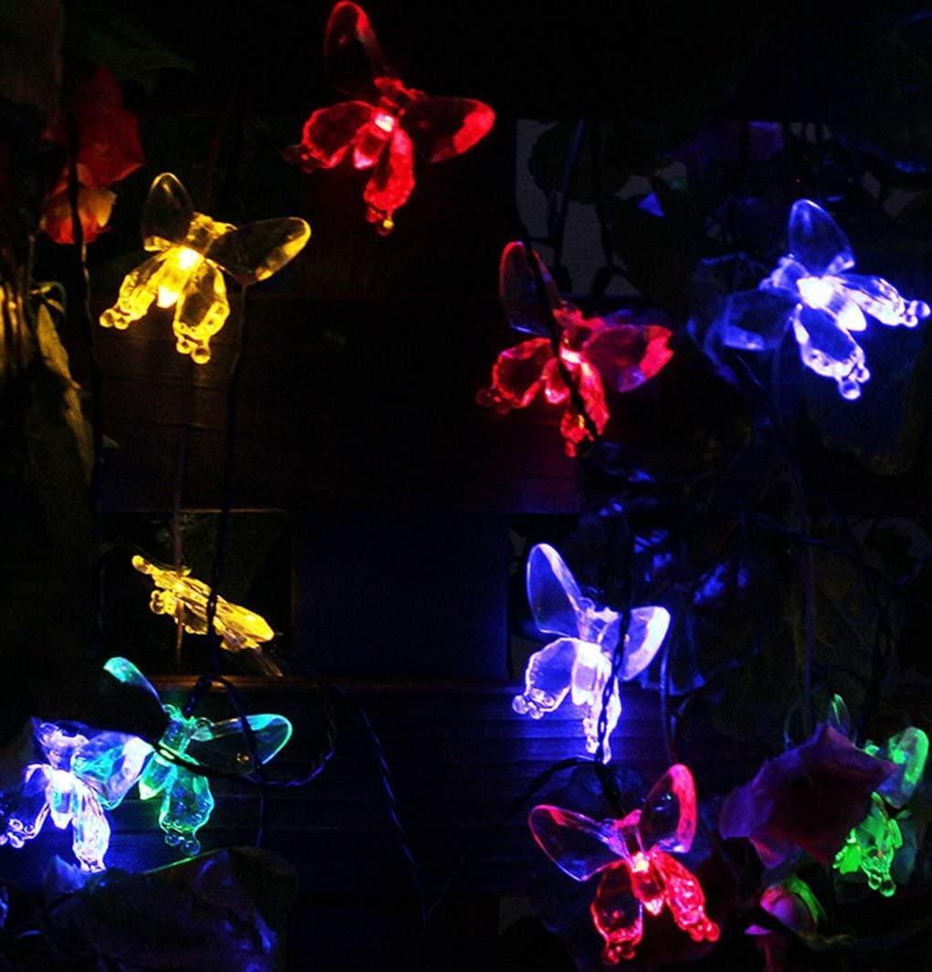20 LED Butterfly String Fairy Light Christmas Decoration LED Light