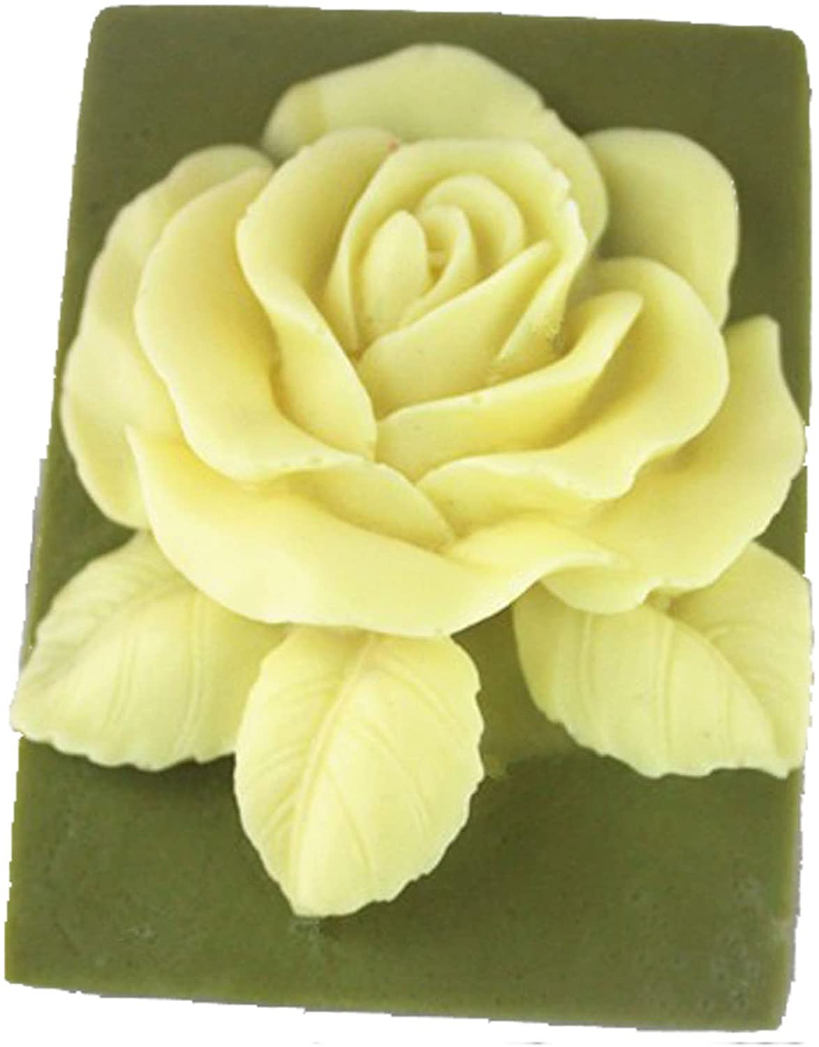 Longzang Rose Mould S358 Art Silicone Soap Craft DIY Handmade Candle Molds