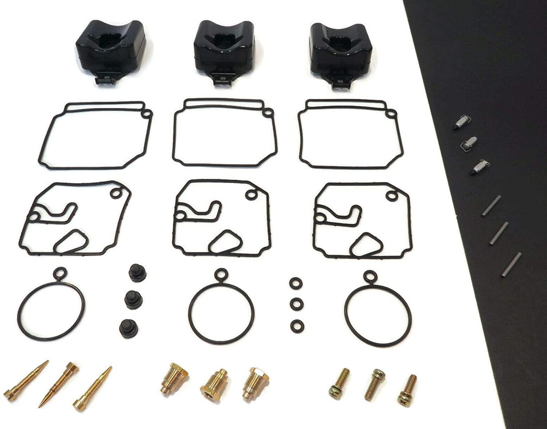 The ROP Shop | Carburetor Repair Kit for Yamaha 50HP Outboard 50TLRNC, 50ETMLD, 50TLHQ, P50TLRQ