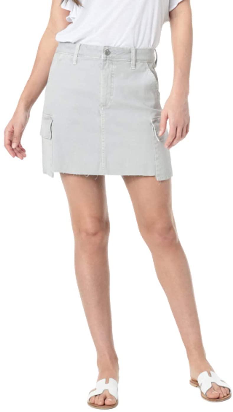 Women's Joe's Army High Waist Cargo Skirt, Size 27 - Grey