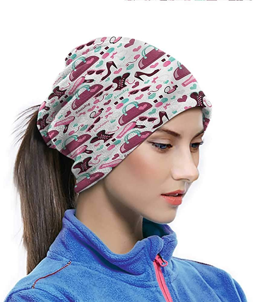 Face Scarf Girls, Fashion Beauty Corset Purse Quickly Dry Breathable Bandana Protect You From the Elements 10 x 11.6 Inch