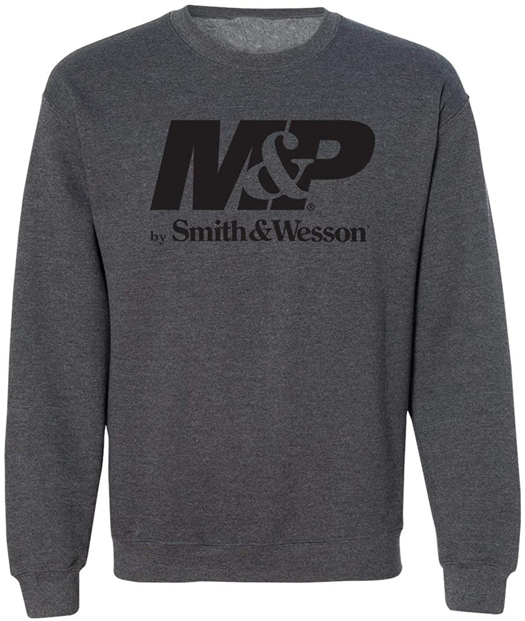 M&P Smith & Wesson Authentic Logo Crew Neck Sweatshirt - Officially Licensed