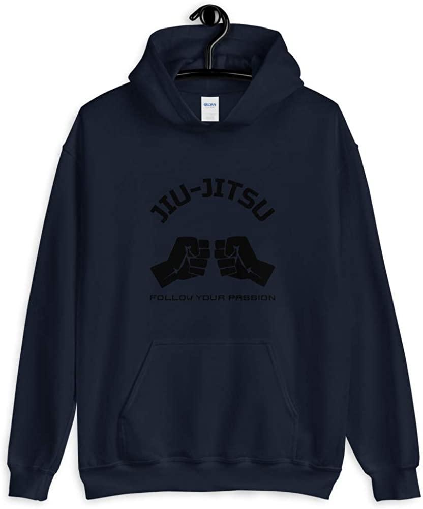 BRED & BUTTER Jiu-Jitsu Unisex Hoodie Navy