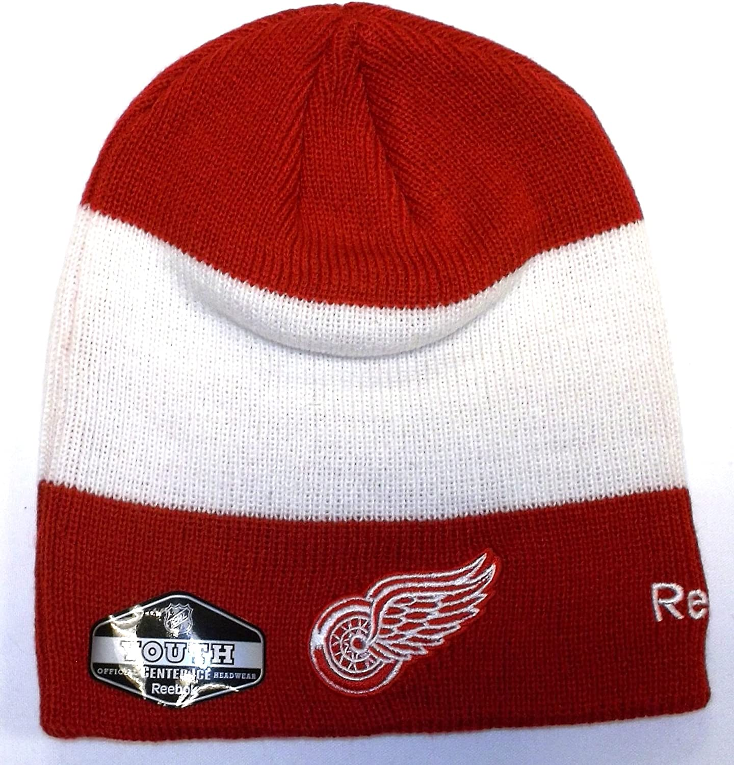 Detroit Red Wings Kids (4-7) Official Team Player Knit Hat