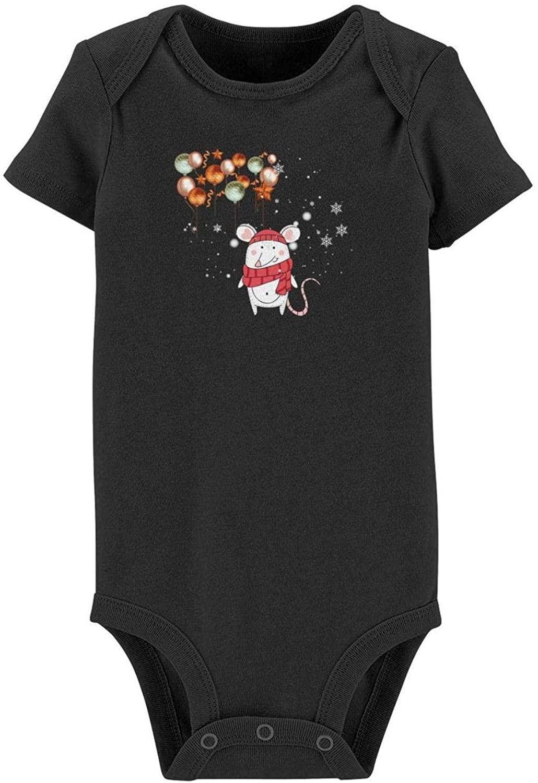 Zinelace Toddler Climbing Bodysuits, Cotton Short-Sleeve Baby Onesies Jumpsuit Clothes