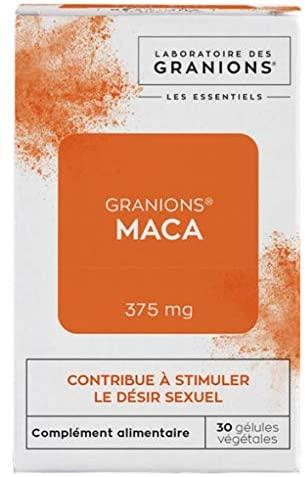 Granions Les Essentiels Maca 375mg 30 Vegetable Capsules