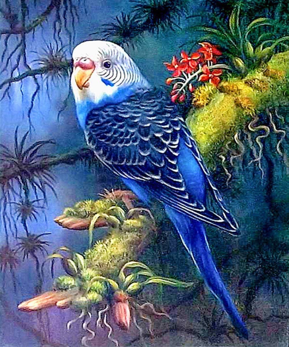 5D DIY Diamond Painting Parrot Home Decoration Cross Stitch kit Round Diamond Embroidery Craft Art Gift 70x90cm
