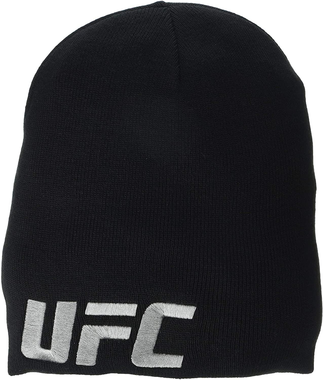 Reebok Unisex UFC Beanie UFC OSFM , BLACK , IQD63