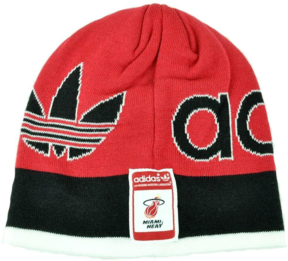 adidas NBA Miami Heat Knit Hat