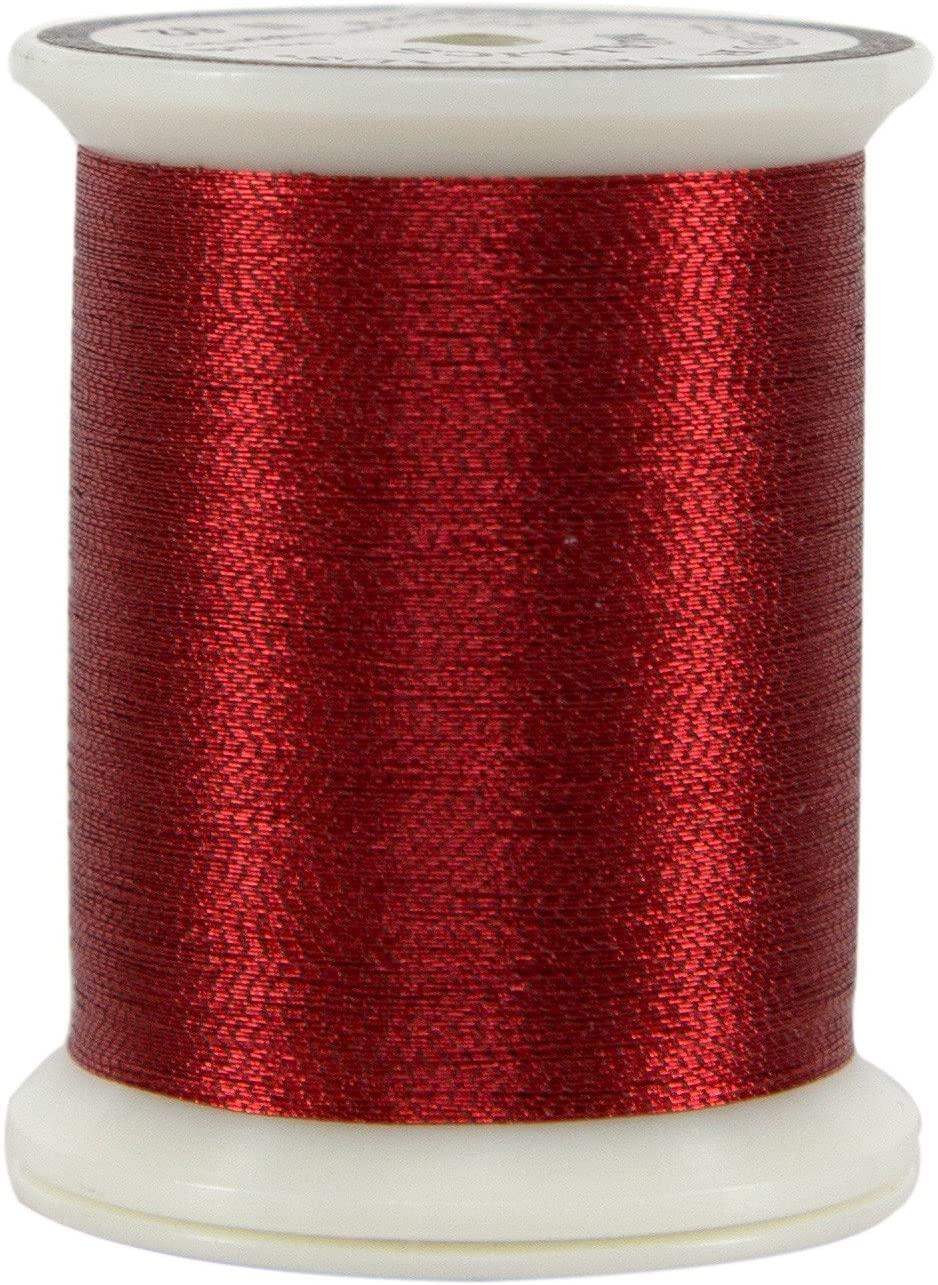 Superior Threads 10101-N62 Red Metallic Thread, 500 yd