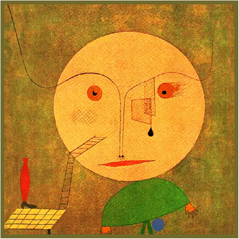 Orenco Originals Error on Green Expressionist Artist Paul Klee Counted Cross Stitch Pattern