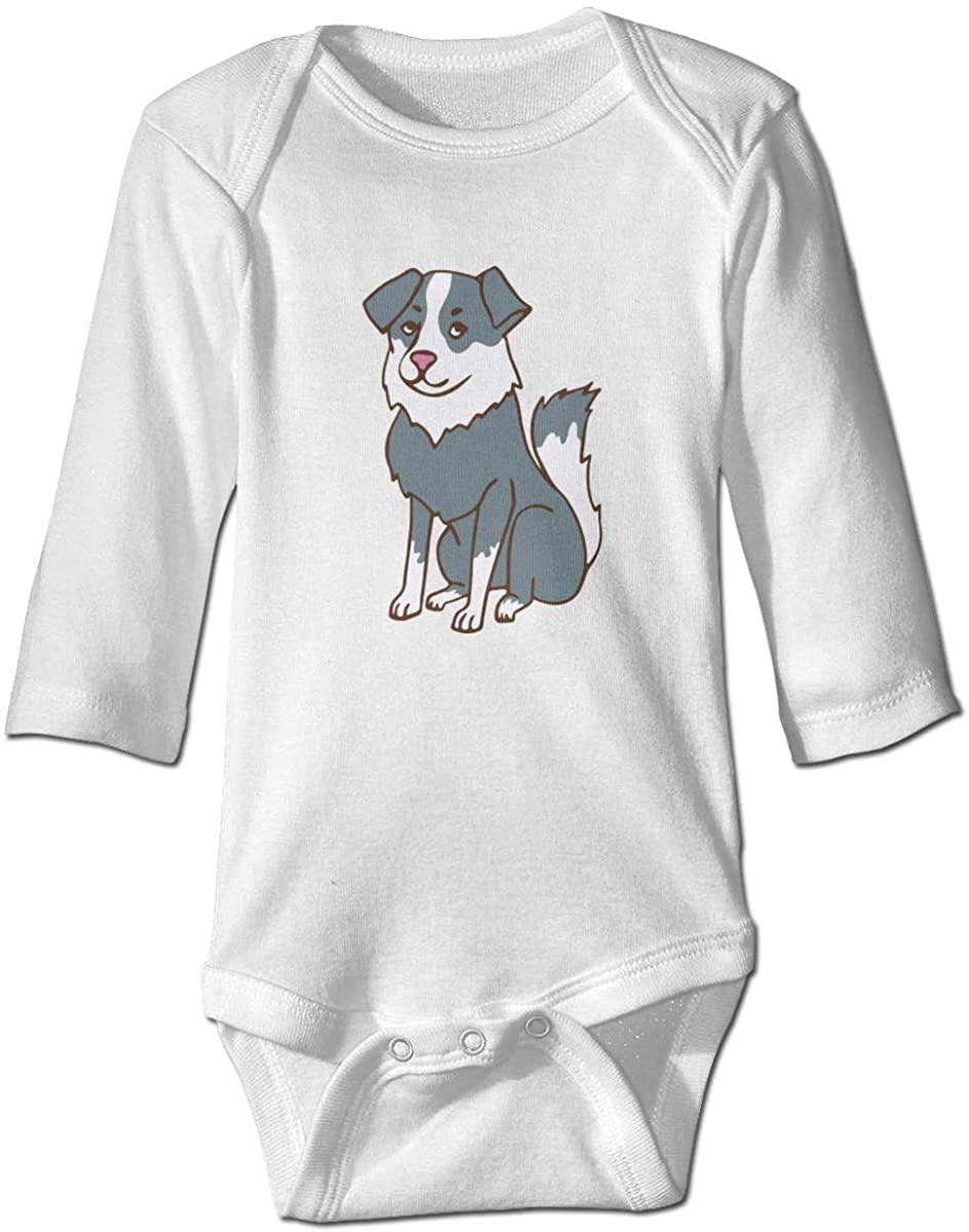 YOIGNG Alaskan Malamute Unisex Baby Bodysuit Infant Cotton Outfits Long Sleeve Jumpsuit