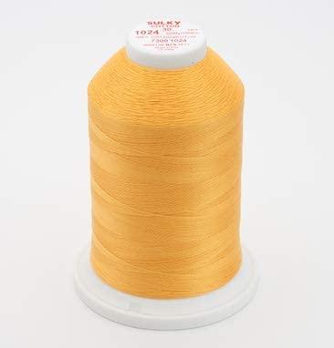 Sulky 730-1024 30 wt Cotton 3200 yds, Goldenrod