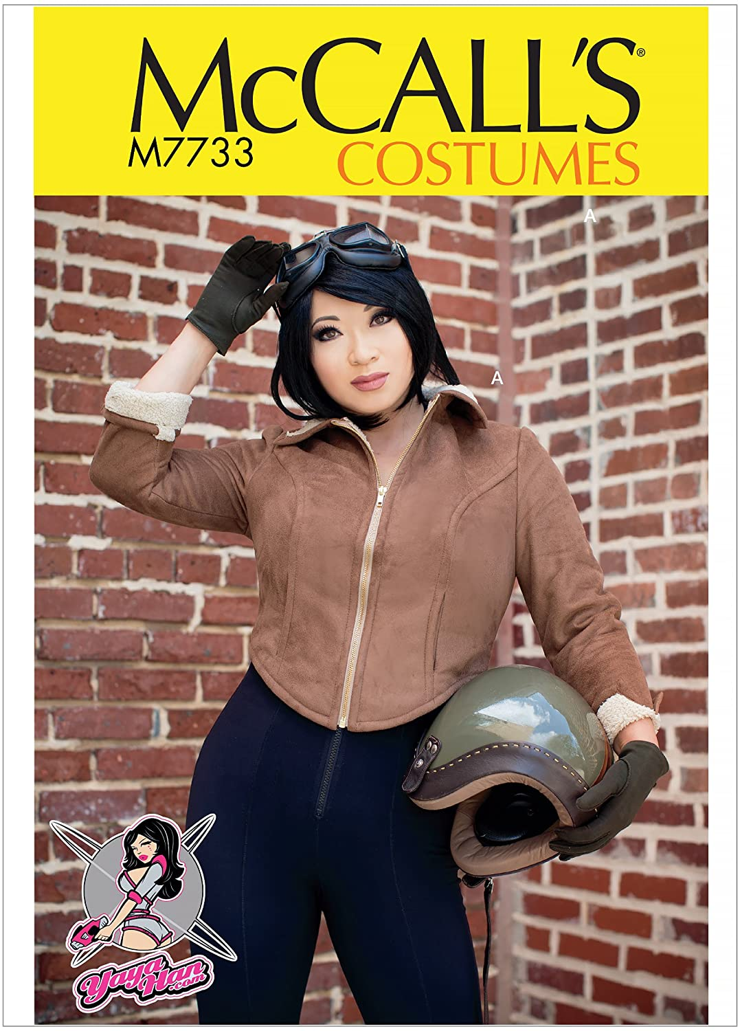 McCalls Patterns Bomber Jacket Cosplay Costume Sewing Pattern for Women by Yaya Han, Sizes 14-22