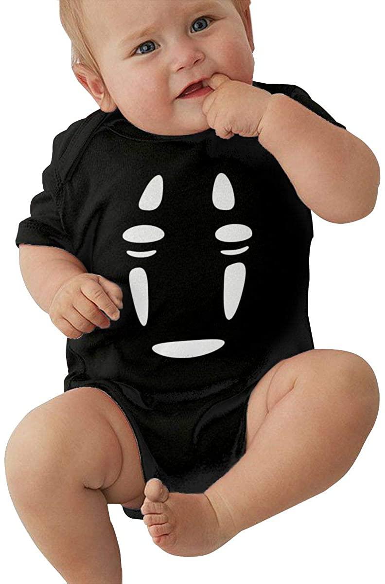 No Face Man Kaonashi Spirited Away Baby Jersey Bodysuits Jumpsuit Onesie Pajamas