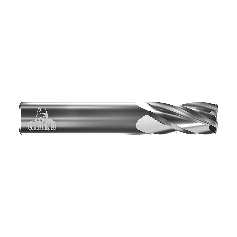 CGC Tools CEM14FL4 Primate Square Nose End Mill, 4 Flute, 1/4