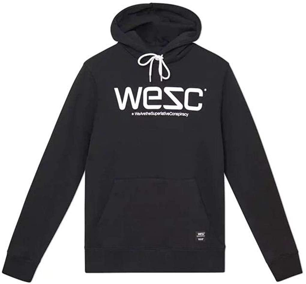 WeSC Logo Hoodie in Black