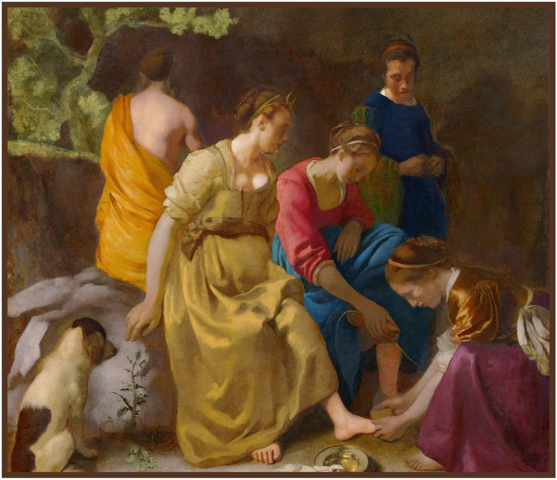 Orenco Originals Diana Her Companions Johannes Vermeer Counted Cross Stitch Pattern
