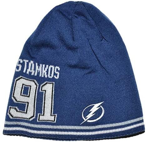 Reebok Tampa Bay Lightning #91 Stamkos Knit Hat KJ71Z