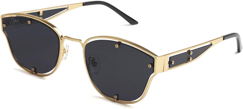 9FIVE Orion Black & 24k Gold Sunglasses