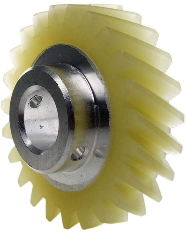 W10112253 Mixer Worm Drive Spare Part Gear Repair For KitchenAid Whirlpool Part by Exact Fit For Whirlpool & Kenmore Mixers - Replaces AP4295669 4162897 4169830 WPW10112253