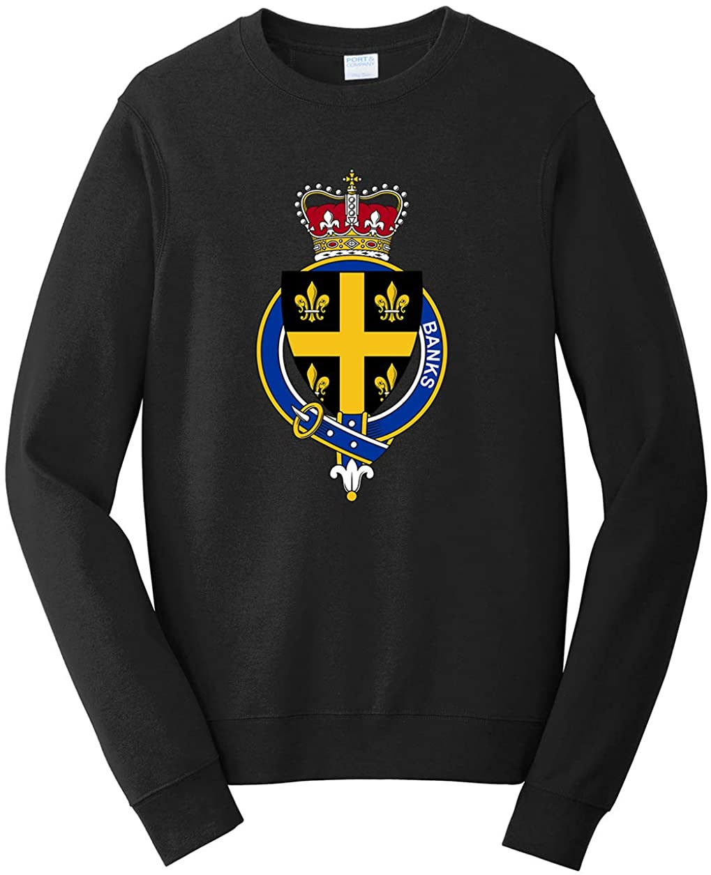 Tenacitee Men's English Garter Family Banks Sweatshirt