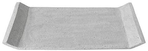 Blomus Moon Tray - Light Grey, 39 x 29 cm / 16 x 12 in