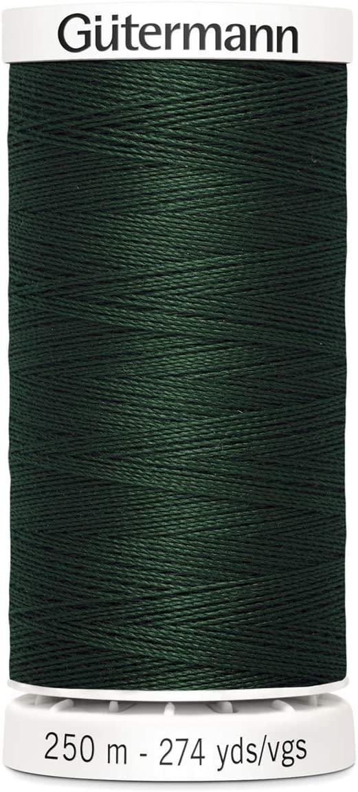 Gutermann Sew All Polyester Thread, 250Mtr, Spinach (0472)