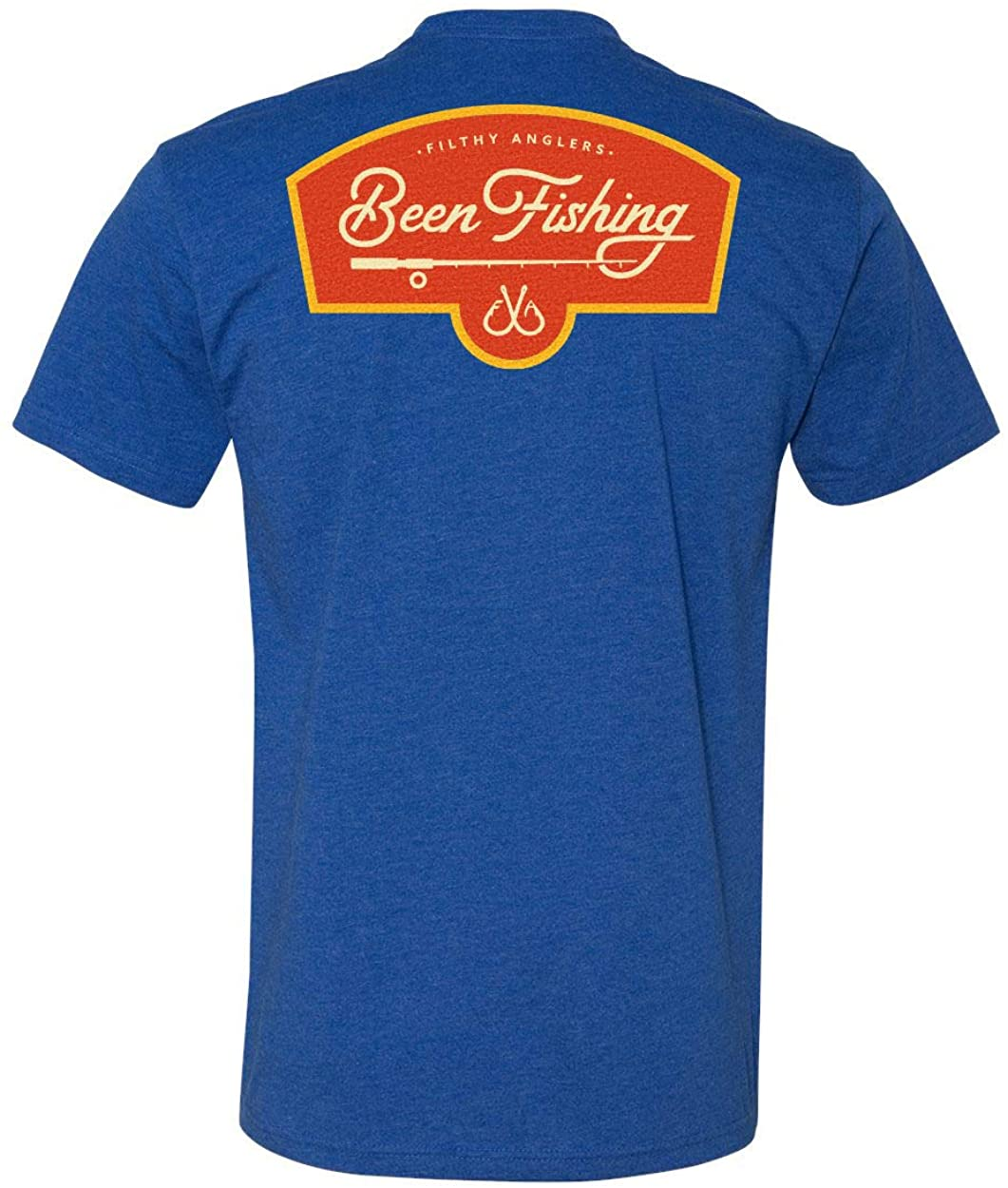 Filthy Anglers Fishing T-Shirt for Active Men & Women- Been Fishing Design