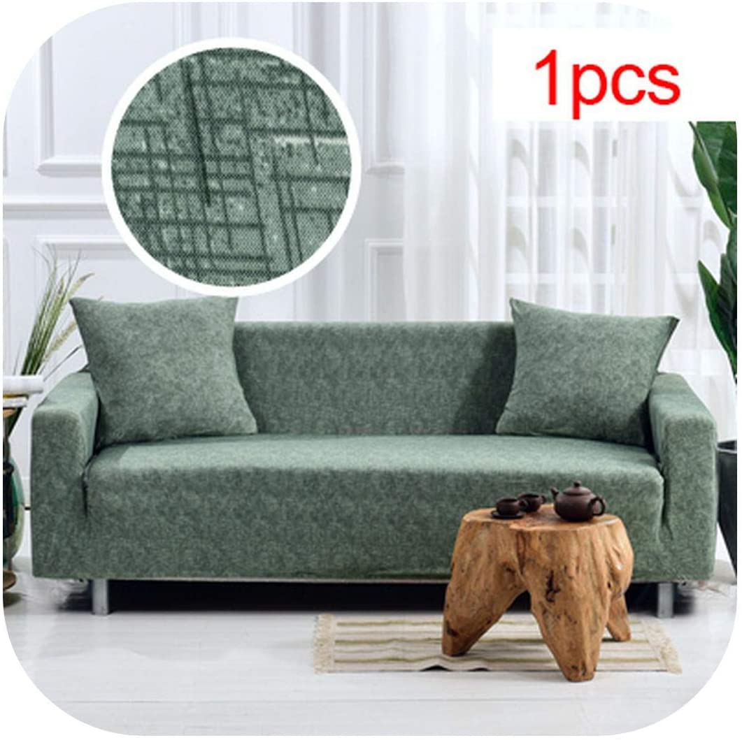 Cloudy Clouds Slipcovers Elastic Stretch Universal Sofa Cover Sectional Cases for Furniture Living Room Couch Cover L Shape Armchair Home 1Pc-14-Three Seat Sofa
