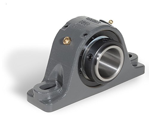 Hub City KPBE3-7/16LT Pillow Block, Spherical Roller Bearing, E-Type Dimensions, 3-7/16