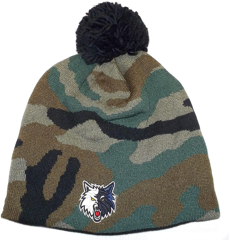 adidas Minnesota Timberwolves Cuffless Knit Hat KQ24Z
