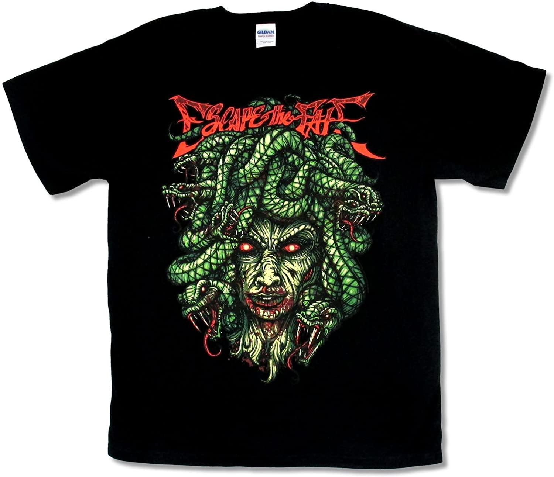 Gildan Escape The Fate Medusa Black T Shirt