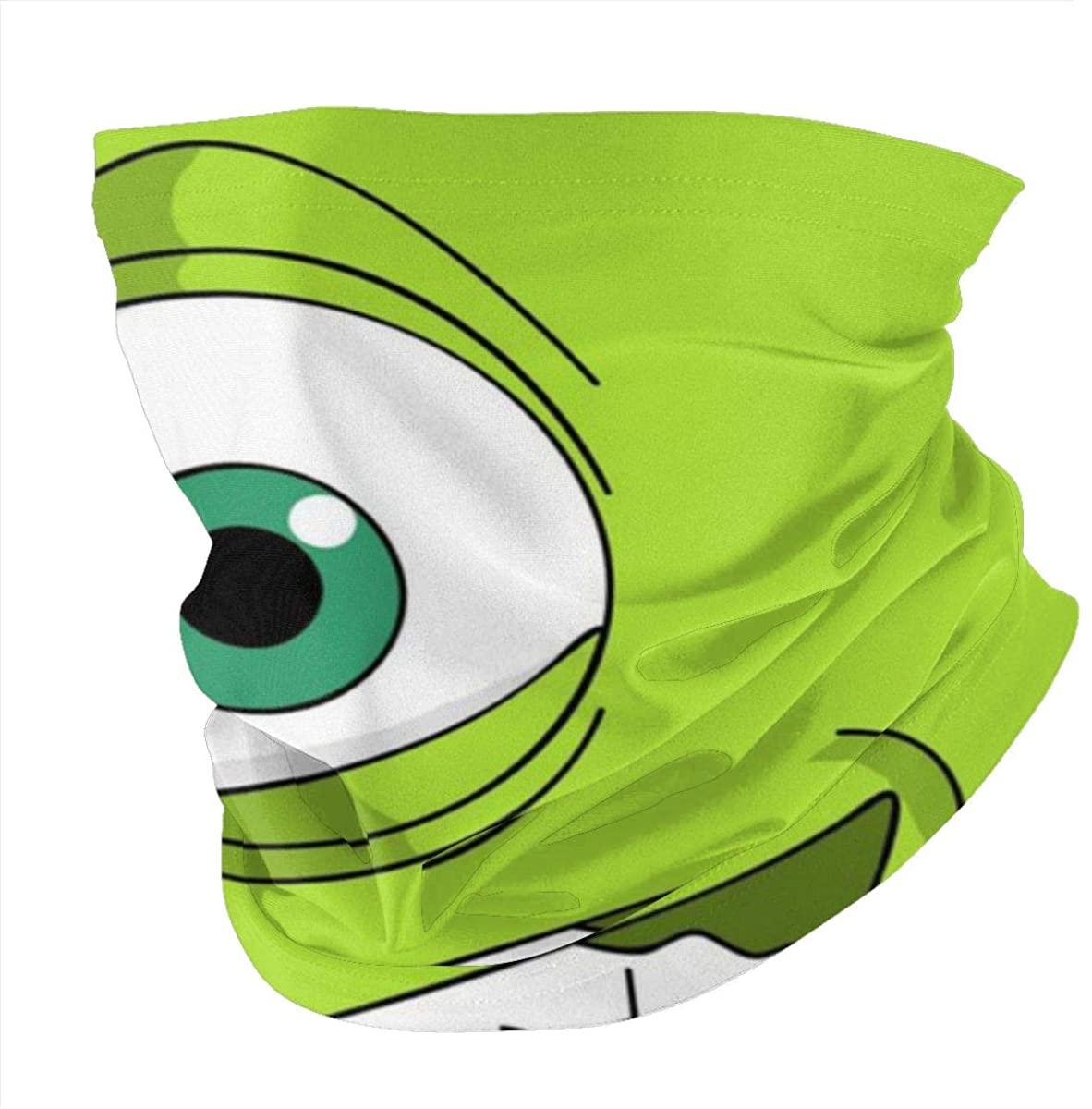 One-Eyed Monster Neck Gaiter Face Cover Multifunctional Headwear Sport Scarf for Man.Men Women