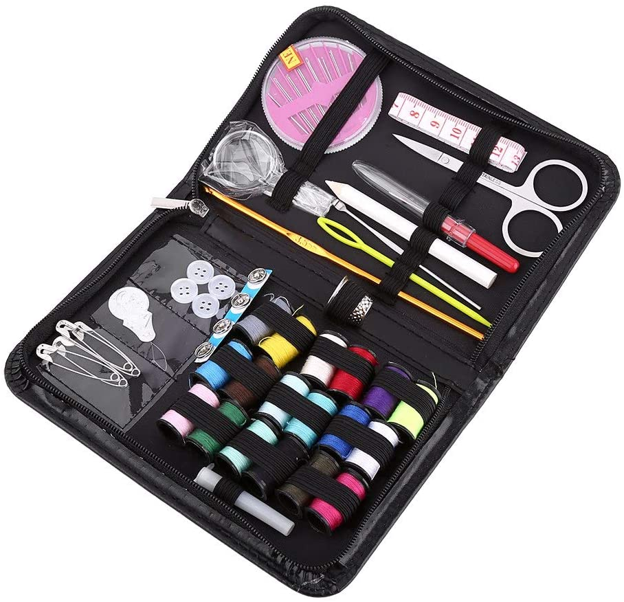 Plyisty Household Sewing Kit, Cloth Sewing Storage Kit, Sewing Storage Kit, Sewing Kit, Sewing Kits for Adults, Portable for Travel Home