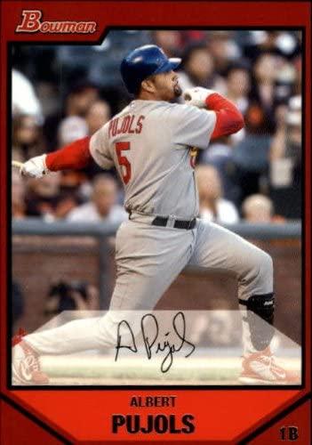 2007 Bowman #175 Albert Pujols MLB Baseball Trading Card