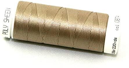 Mettler Polysheen Polyester Machine Embroidery Thread 200m 200m 874 Gravel - each